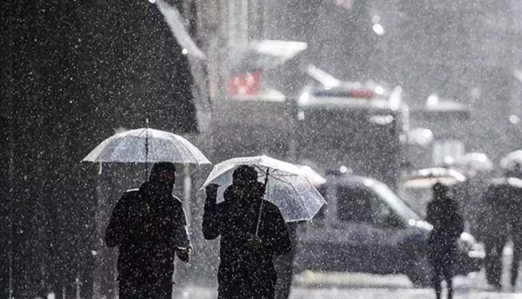 Meteoroloji'den 3 İl İçin Sağanak Uyarısı