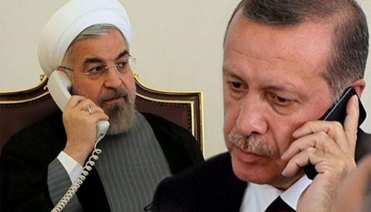 Erdoğan, Ruhani İle Telefonda Görüştü