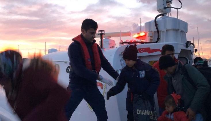 İzmir'de 111 Sığınmacı Yakalandı