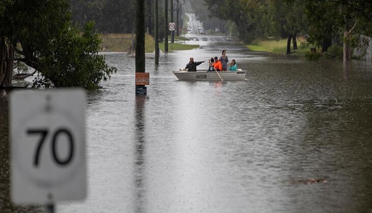Avustralya'da Sel: 18 Bin Kişi Tahliye Edildi