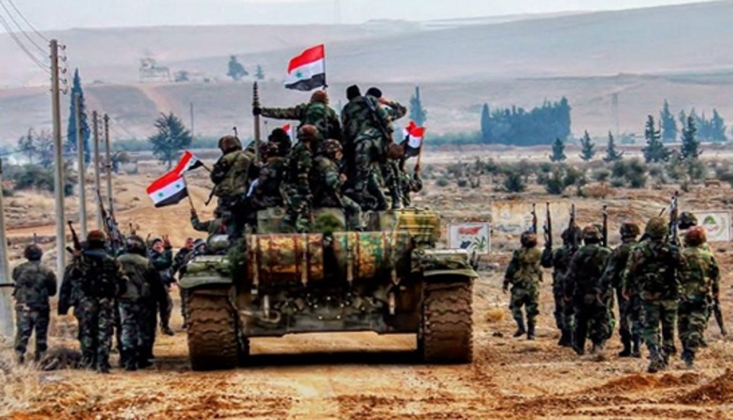 Suriye Ordusu 'Ummul Keyf'e Girdi