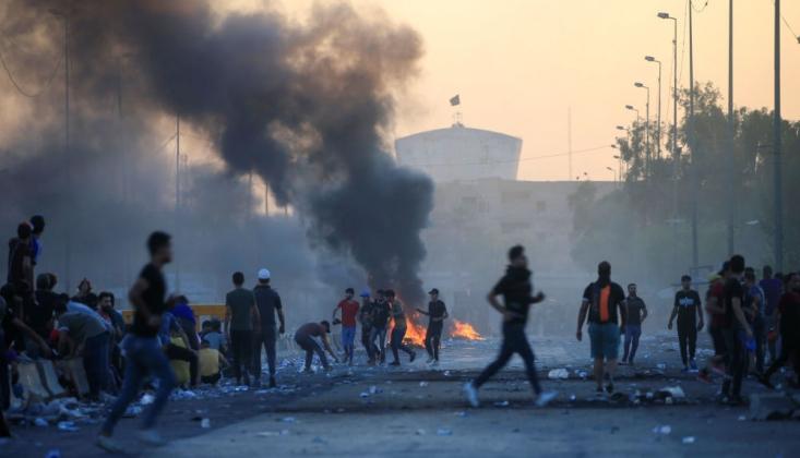 Irak'ta Gösterilerde Ölenler İçin 3 Gün Yas İlan Edildi