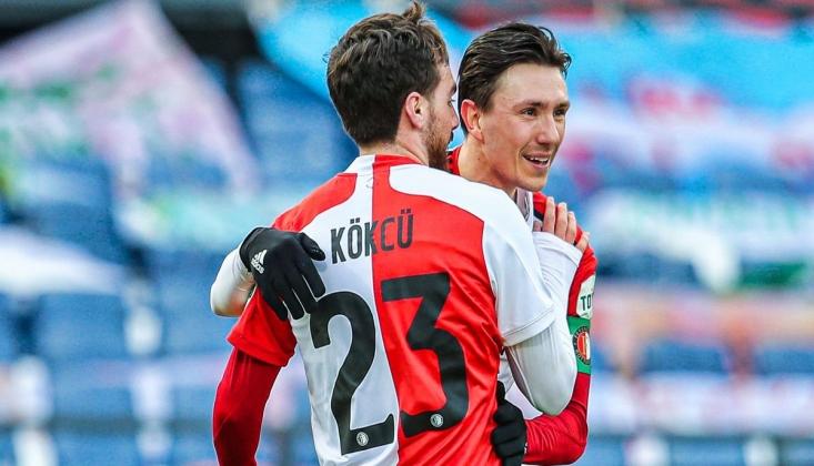 Orkun Kökçü Golle Döndü; Feyenoord Farka Koştu