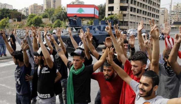 Lübnan: Bazı Büyükelçilikler Göstericileri Kışkırttı