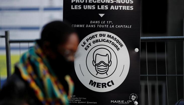 Fransa'da Kovid-19 Nedeniyle Ölenlerin Sayısı 90 Bini Geçti
