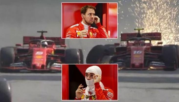 Formula 1'de Kaza Şoku!