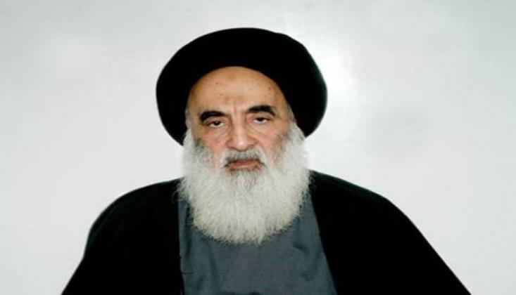 Ayetullah Sistani'den Barışçıl Gösterilere Destek