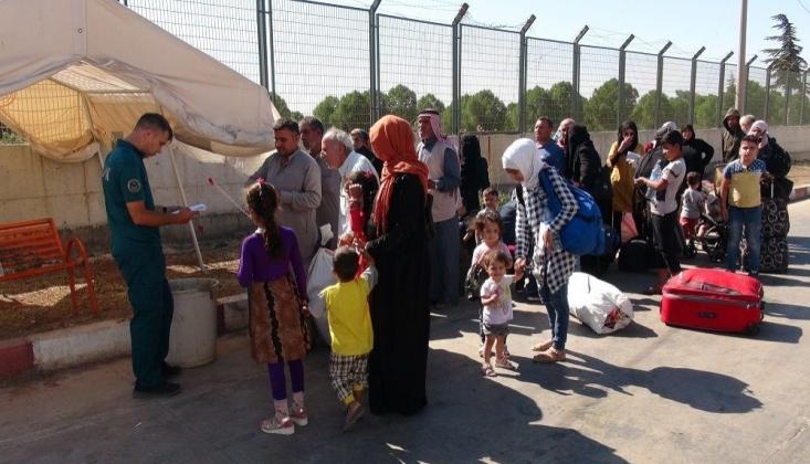 37 Bin Suriyeli Türkiye'ye Döndü