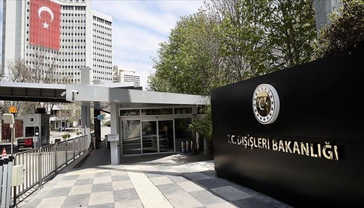 Dışişleri Bakanlığı'ndan AB'nin Türkiye Kararlarına Tepki