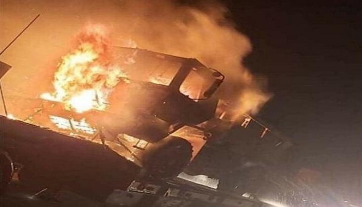 Irak'ta Amerikan Askeri Konvoyuna Yeni Saldırı