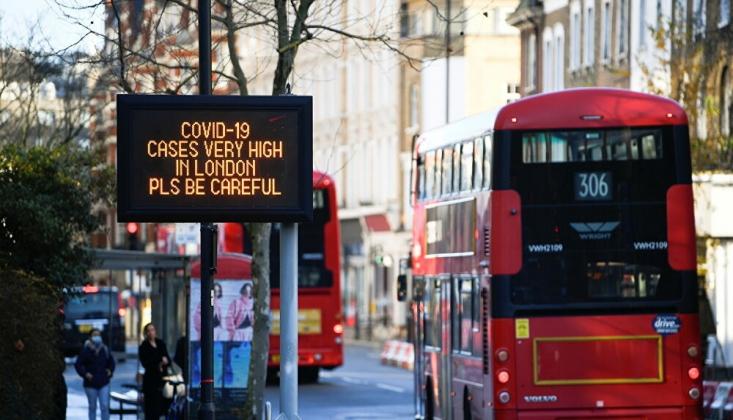 Dünya Yeni Koronavirüs Mutasyonu Nedeniyle İngiltere'yle Sınırları Kapatıyor