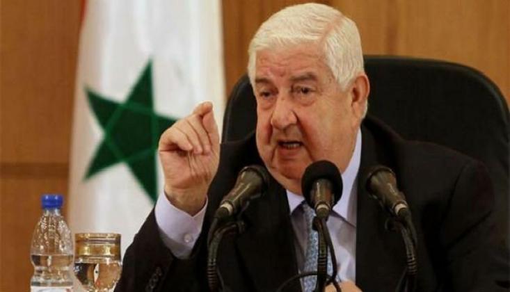 Suriye Dışişleri Bakanı: Türkiye Cumhurbaşkanı'nın Planı Etnik Temizliktir