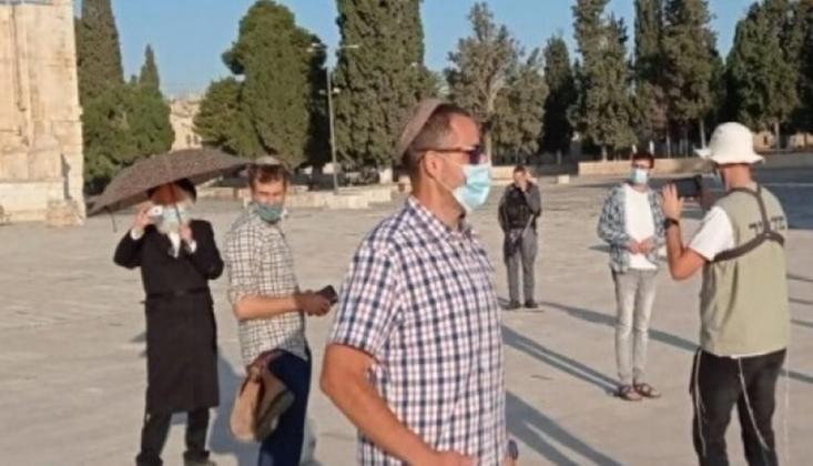 İşgalciler Mescid-i Aksa'nın Yahudi Okuluna Dönüştürülmesini Talep Etti