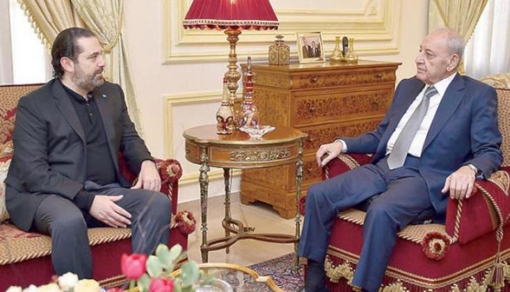 Nebih Berri ve Hariri Anlaşmaya Vardı