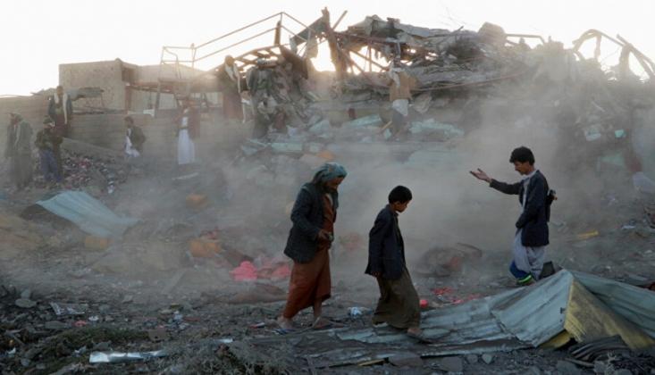 Suudi Savaş Uçaklarından Yemen'e Saldırı