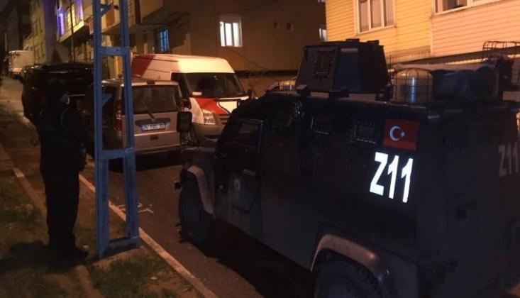 İstanbul'da 14 Adreste Eş Zamanlı IŞİD Operasyonu