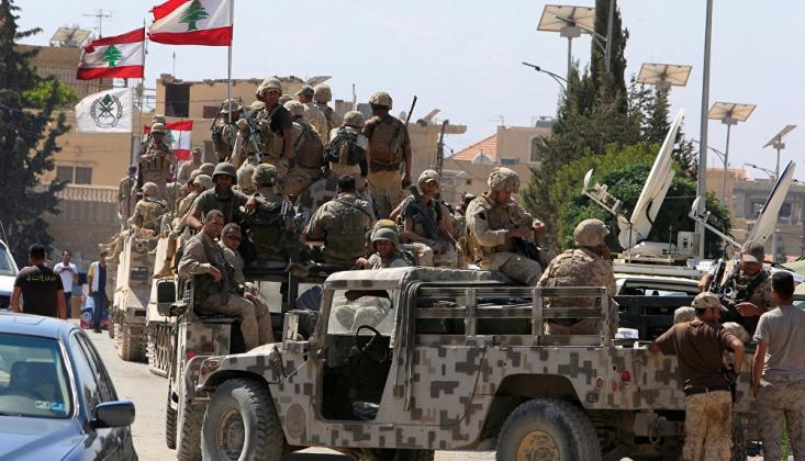 Lübnan Ordusu, İsrail'e Ait İHA'ya Ateş Açtı