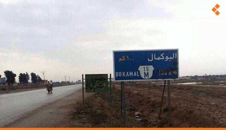 Suriye-Irak Sınırında Patlama Sesleri