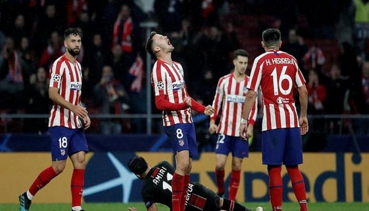 Atletico Madrid Sahasında Kazandı