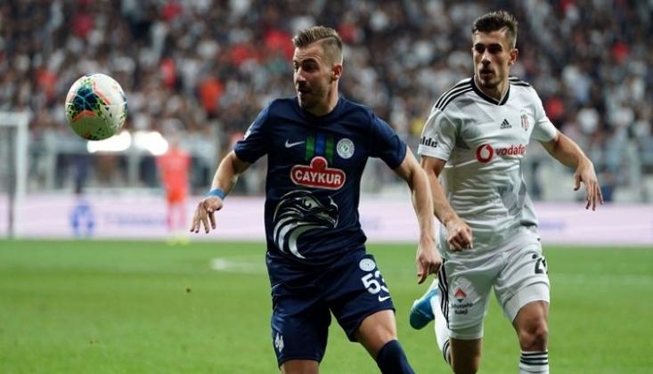 Beşiktaş'a Evinde Rizespor Çelmesi!