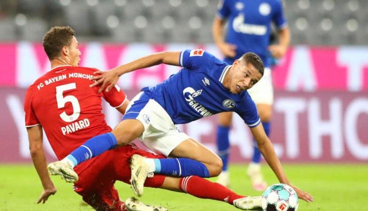 Bayern Münih Schalke'ye Gol Olup Yağdı