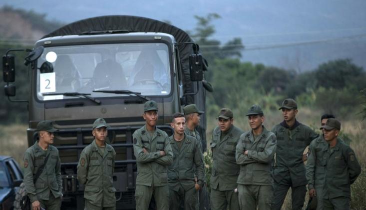 Venezüella Ordusuna Bağlı Birliğe Saldırı