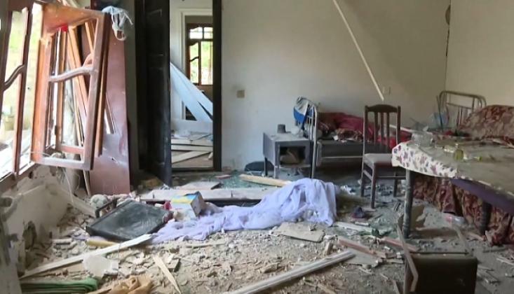 Ermenistan Berde'de Sivilleri Vurdu