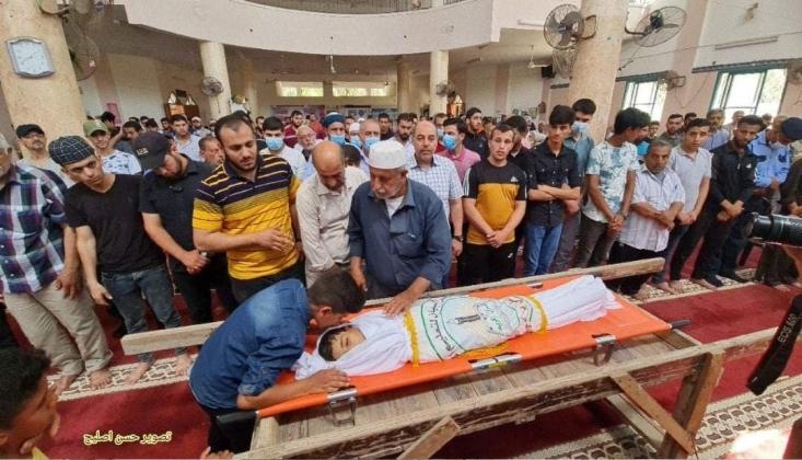 İşgal Rejiminin Gazze'ye Attığı Mühimmat İnfilak Etti