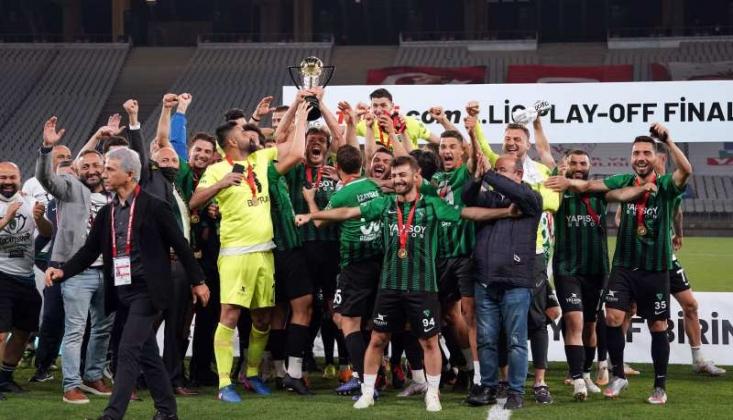 Kocaelispor TFF 1. Lig'e Yükseldi