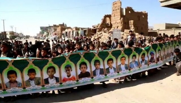 Suudi Koalisyonun Cinayetleri Uluslararası Ceza Mahkemesi'ne Şikayet Edildi
