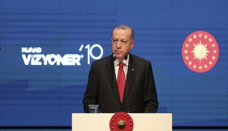 Erdoğan'dan 'Gül'lü Gönderme
