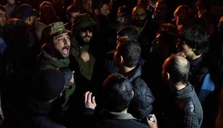 Ermenistan'da Protestocular Gözaltına Alındı