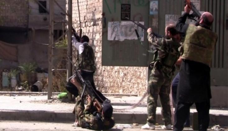 Suriye'de Muhalifler Arasında Çatışma