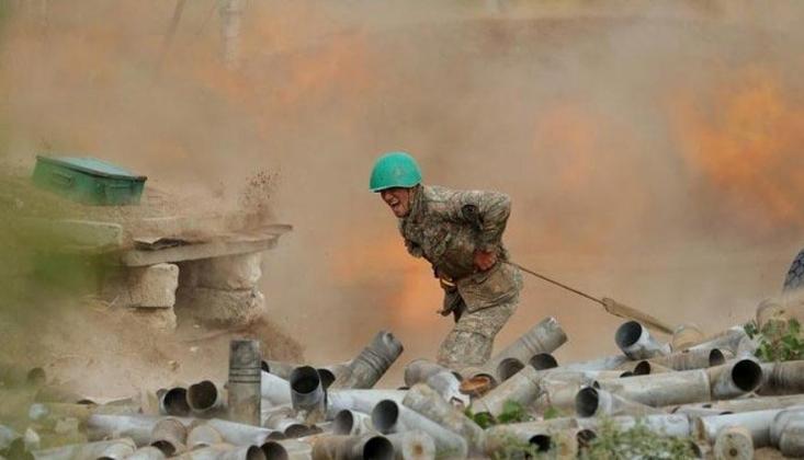 Azerbaycan'da Mayın Patlaması