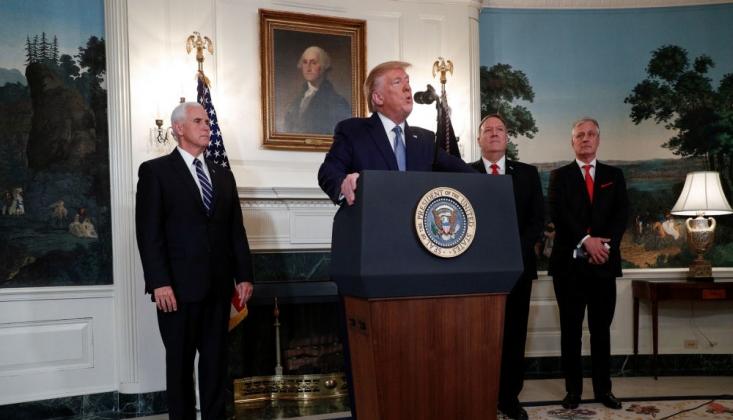 Trump: Türkiye Yükümlülüklerini Yerine Getirmezse Yaptırım Uygularım