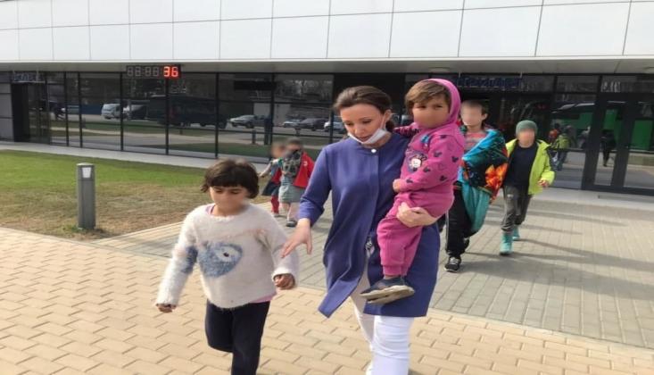 Mülteci Çocuklar Evlerine Dönüyor