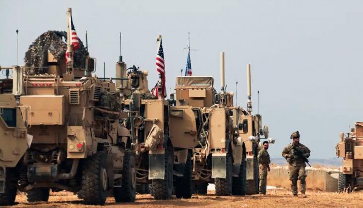 ABD, Suriye'deki Üslere Mühimmat Gönderdi