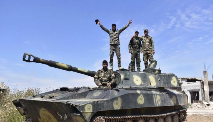 Suriye Ordusu İdlib'de İlerliyor