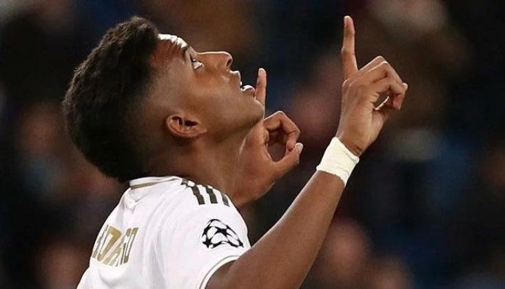 Real Madrid'in 18'lik Yıldızı Rodrygo Tarihe Geçti!