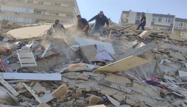 İzmir Depreminde Hayatını Kaybedenlerin Sayısı Artmaya Devam Ediyor