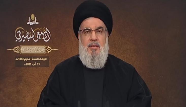 Nasrallah: Biden Afganistan'da İç Savaş Çıkarmak İstiyordu