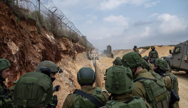 İşgalci İsrail Lübnan Sınırına Sığınak İnşaatına Başlıyor