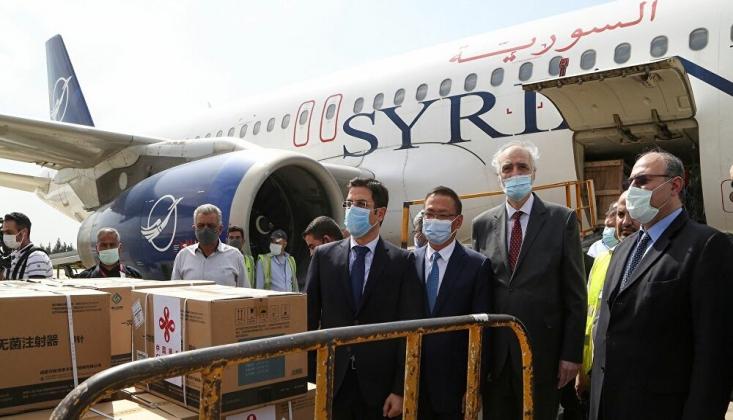 Çin, Suriye'ye 150 Bin Doz Koronavirüs Aşısı Bağışladı