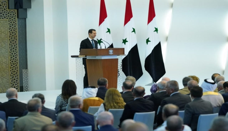 Beşar Esad Göreve Başladı: Düşmanın Tüm Planları Yıkıldı