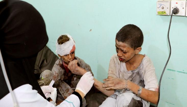 UNICEF: Suudi Rejimin Yemen'e Düzenlediği Saldırıdan Dehşete Düştük