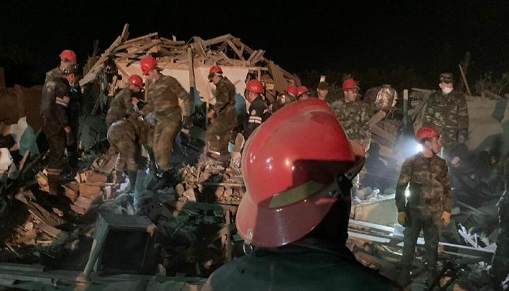 Gence ve Mingeçevir Kentlerine Yönelik Füze Saldırısı