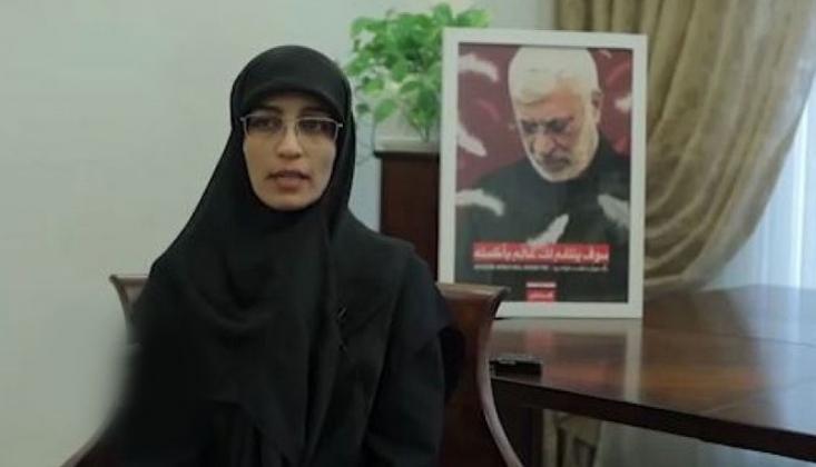 Ebu El Mühendis'in Kızı: İran'ın Desteği Olmasaydı Irak'ın Kurtuluşu Mümkün Olmazdı