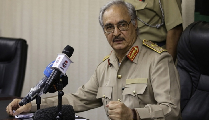 Libya'da Hafter Başkentte 'Uçuşa Yasak Bölge' İlan Etti