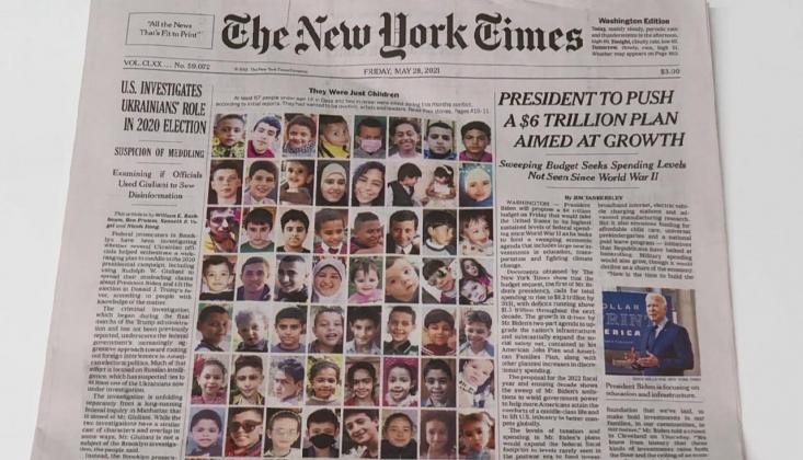 New York Times: Onlar Sadece Çocuktu