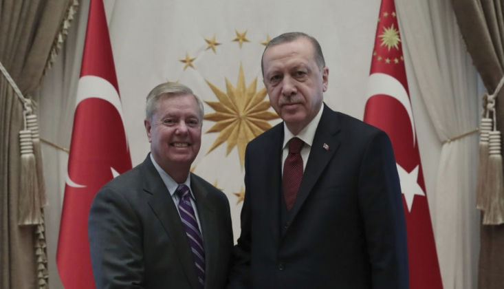 Senatör Graham Türkiye'yi Tehdit Etti